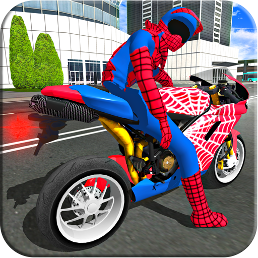 Bike Super Hero Stunt Driver Racing картинка